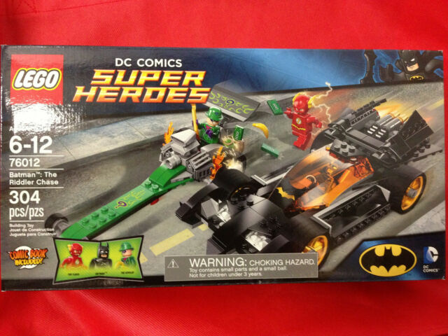 THE RIDDLER CHASE 2014 LEGO SUPER HEROES DC COMICS 76012 BATMAN GREAT GIFT!