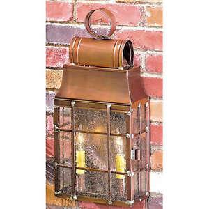 Washington Exterior Wall Lantern Antique Copper Brass