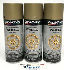 Duplicolor Hwp111 3 Pack High Performance Wheel Coating Gold Color 12oz