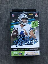 Panini 2020 Absolute Football Hanger Boxes - 50 Cards