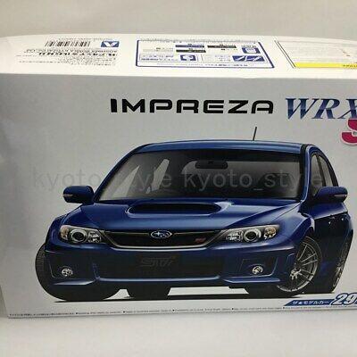 Aoshima 1//24 Subaru GRB Impreza WRX STI /'10 # 052358