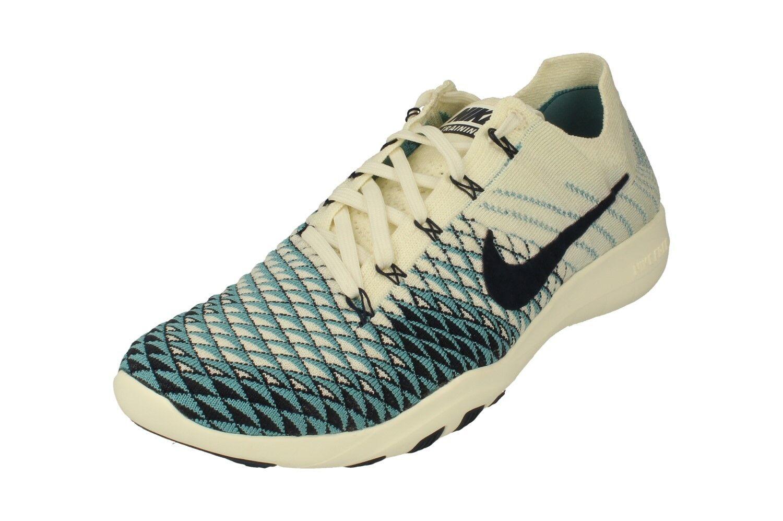 Nike Da Donna Gratuito TR Flyknit 2 INDIGO Scarpe da ginnastica in esecuzione Scarpe Sneakers 904656 104