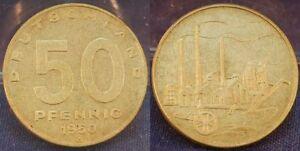 GDR, 50 Pfennig 1950, (3) Mint State
