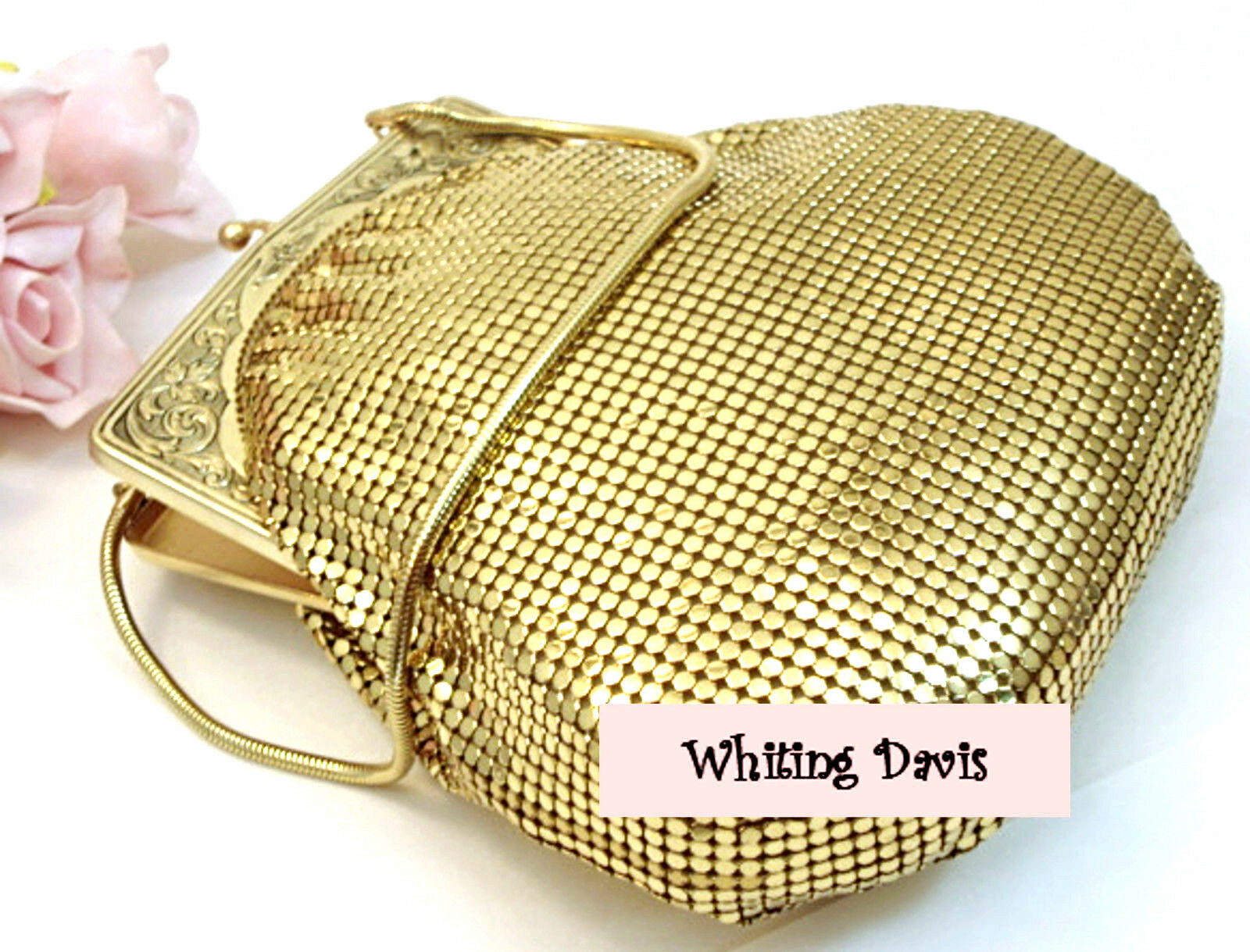 Mesh and Beaded Bags and Purses