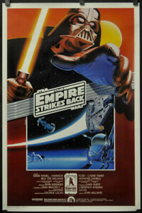 STAR-WARS-EMPIRE-STRIKES-BACK-R1990-ORIG-27X41-ROLLED-MOVIE-POSTER-KILIAN-STYLE