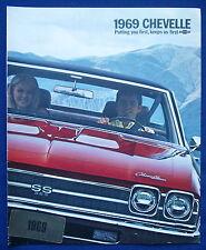 Prospekt brochure 1969 Chevrolet Chevy Chevelle (USA)