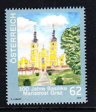 Austria,19.9.2014,postfr. **),300 Jahre Basilika Mariatrost Graz, 62 Cent