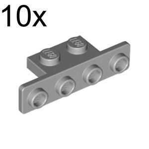 Light Bluish Grey LEGO 2436 Bracket 1 x 2-1 x 4 with Rounded Corners