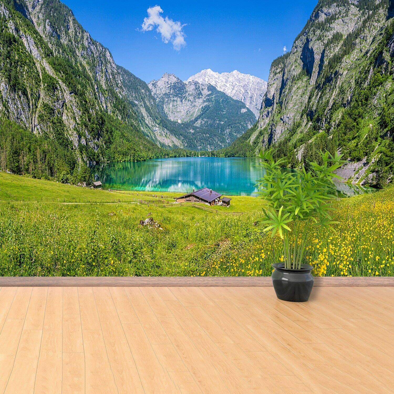 Fototapete Selbstklebend Einfach ablösbar Mehrfach klebbar Obersee Königssee