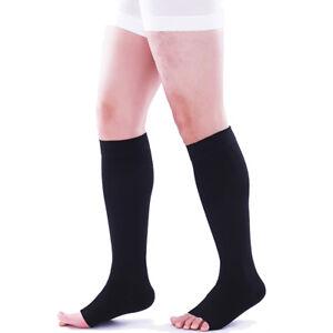 23-32 mmHg Medical Compression Socks Support Stockings Travel Flight Edema Nurse