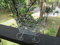 10 Tall Baby Buggy - For Baby Shower Decorations - ( Item 1005-w)