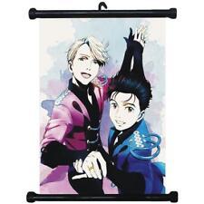 Hot YURI ON ICE Yuri Katsuki Cute Poster Wall Scroll Painting Mural 40*60cm