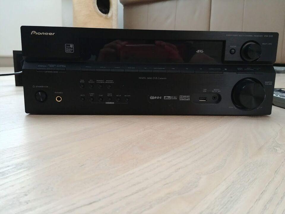 Pioneer, VSX-516 receiver, 7.1 kanaler