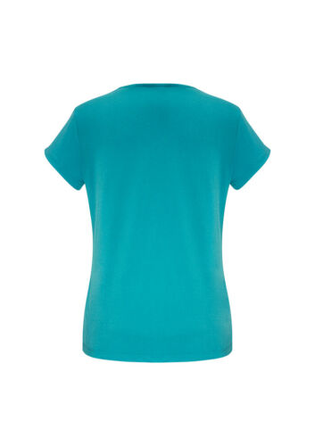 Biz Collection Ladies Lana Jersey Knit Top T-Shirt Soft Flowing Easy Care Fabric