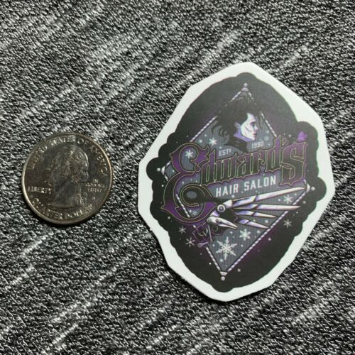 1 Piece Edward Scissorhands Stickers