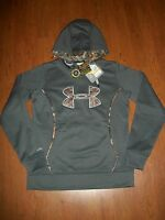 With Tags, Women's Under Armour Storm Camo Logo Hoodie, Size S,l,xl $64.99