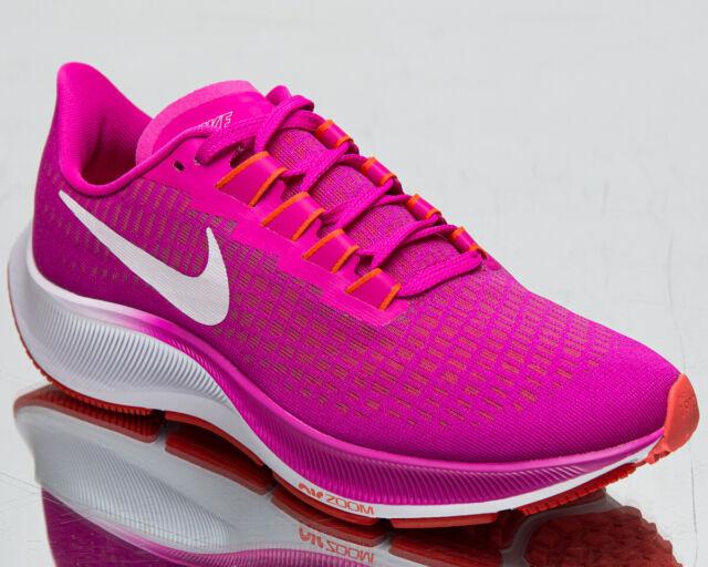 Nike Air Zoom Pegasus 37 Women's Fire Pink White Running Jogging Shoes Sneakers