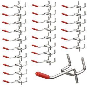 25x-Single-Pegboard-Hooks-50mm-Board-Slat-Wall-Retail-Display-Shop-Peg-Fits-D4R5
