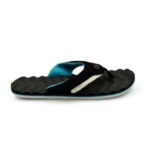 e4d7220df0eb Animal® Jekyl Ripple Black Mens Flip Flops Sandals Brand New on Sale ...