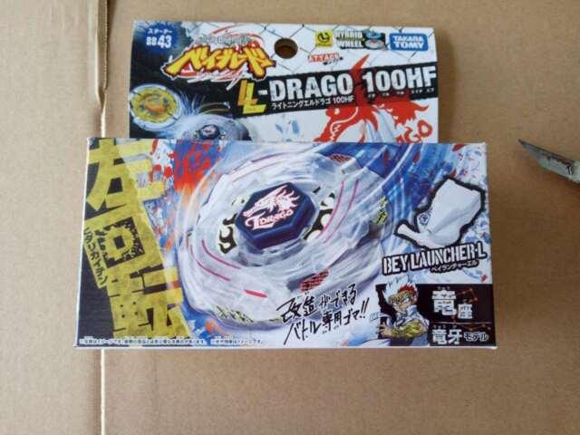 Beyblade Starter Lightning El Drago 100HF BB-43 Japan