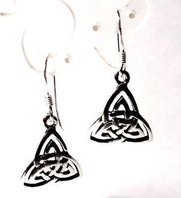 keltischer Knoten Ohrringe Trinity 925 Sterling Silber Celtic Ohrhänger Neu | eBay