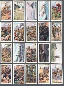 1915-Wills-s-Cigarettes-War-Incidents-Tobacco-Cards-Complete-Set-of-50