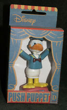 VINTAGE Disney Character DONALD DUCK PUSH PUPPET TOY Small Planet Japan MIB