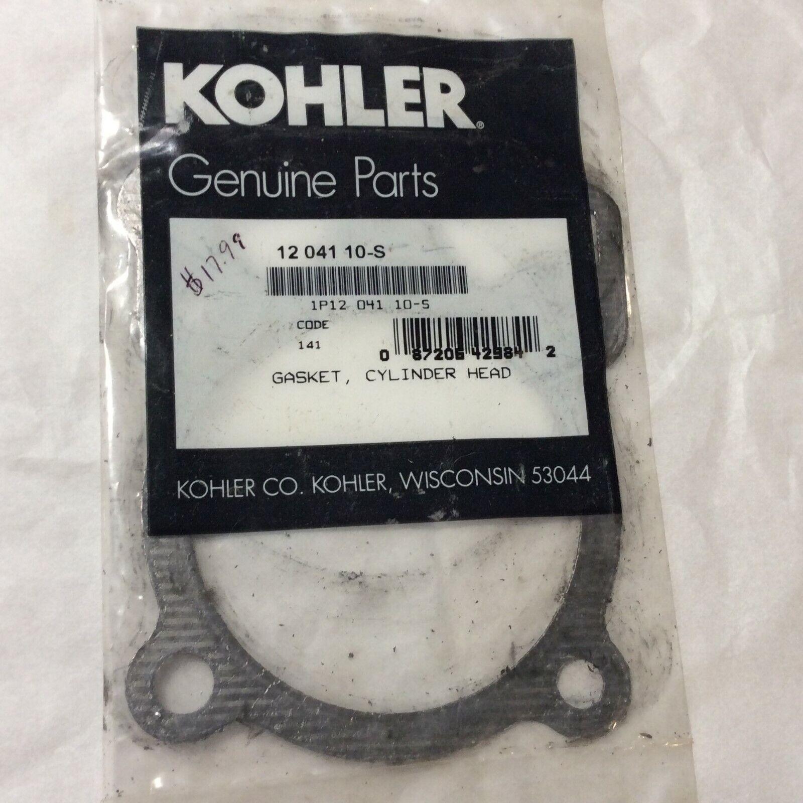 Kohler 12 041 10 S Head Gasket Nos