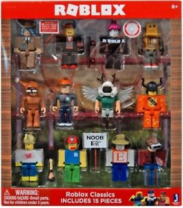 Ebay Roblox Figures Roblox Figure Character Set Figurines Toy For Boy Girl Builderman Noob Serie 1 2 Ebay