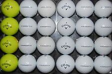 24 ( 2 DOZEN ) CALLAWAY SUPERSOFT used Golf Balls AAAAA  FREE 2 Dozen TEES