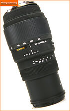 Sigma 70-300mm F4-5.6 DG Macro Lente Sony un montaje/Minolta Free UK Post