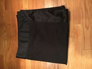 Bed-Bath-amp-Beyond-Black-Shower-Curtain-Gently-Used