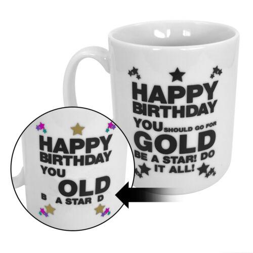 3x Set Kaffeetasse Kaffeepott Geschenk Thermos Tasse mit Slogan Kaffeebecher Gag