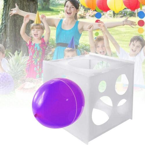 11 Holes Balloon Sizer Box PP Square Balloon Measurement Tool For Balloon Arc~ii