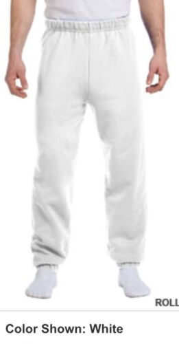 SWEATPANTS Elastic Cuffed Bottoms Any Colour Sizes Youth Adult To 3X