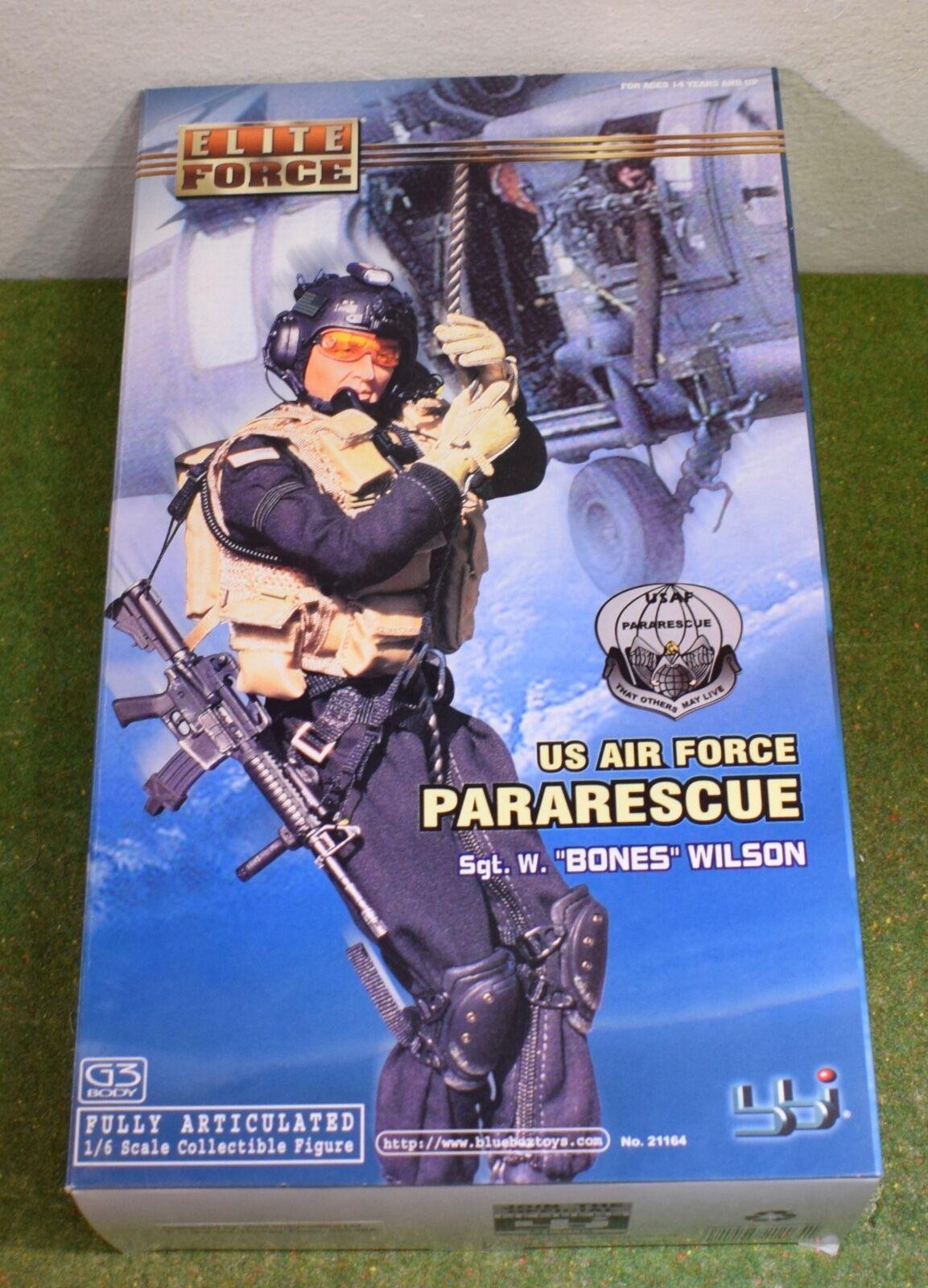 ELITE FORCE - BBI 1 6 MODERN US Sgt W. BONES WILSON US AIR FORCE PARARESCUE