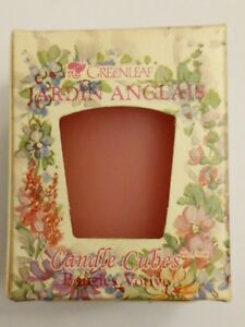 catch another chance promo codes Details about Greenleaf English Garden Cube Candle 2 oz Votive New in Box  Jardin Anglais