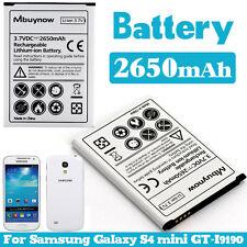 Mbuynow 2650 mAh extendida carga de batería de reemplazo para Samsung Galaxy S4 Mini