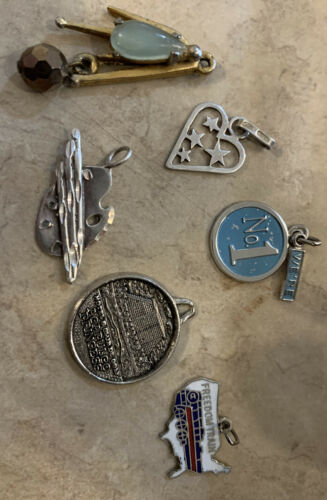 Vintage Sterling Silver 925 Charms