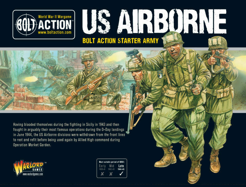 US Airbourne Starter Army Bolt Action Warlord Games 28mm
