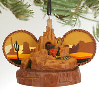 Disney Parks Store Big Thunder Mountain Railroad Ear Hat Ornament - Train -