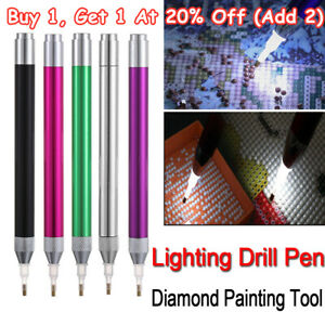 5D Diamond Painting Tool Lighting Point Drill Pen Sewing DIY Accessories Tools