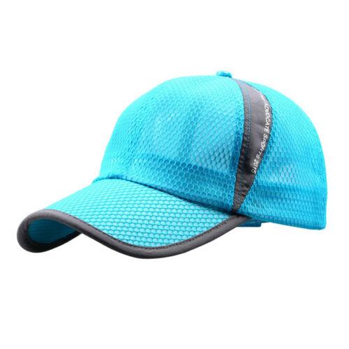 NEW Men Women Outdoor Holiday Sunshade Sun Hat Quick-dry Ventilation Baseball