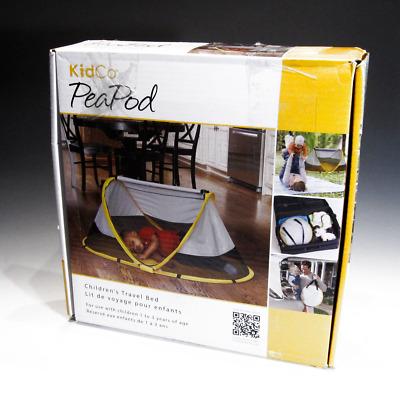 Kidco Peapod Travel Bed in Sunshine Brand New! Yellow P3011