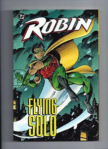 ROBIN-FLYING-SOLO-DC-Comics-TPB-softcover-Graphic-Novel-Batman