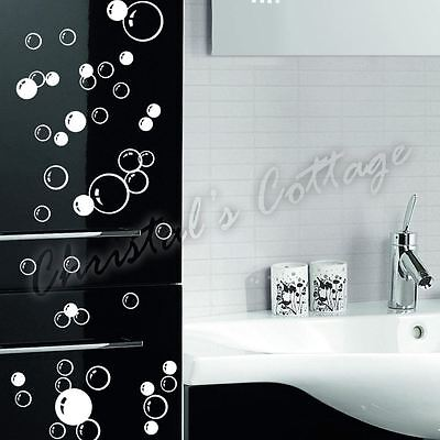88 Bubbles Wall Art Bathroom Window Shower Tile Decoration Decal Kid Car Sticker