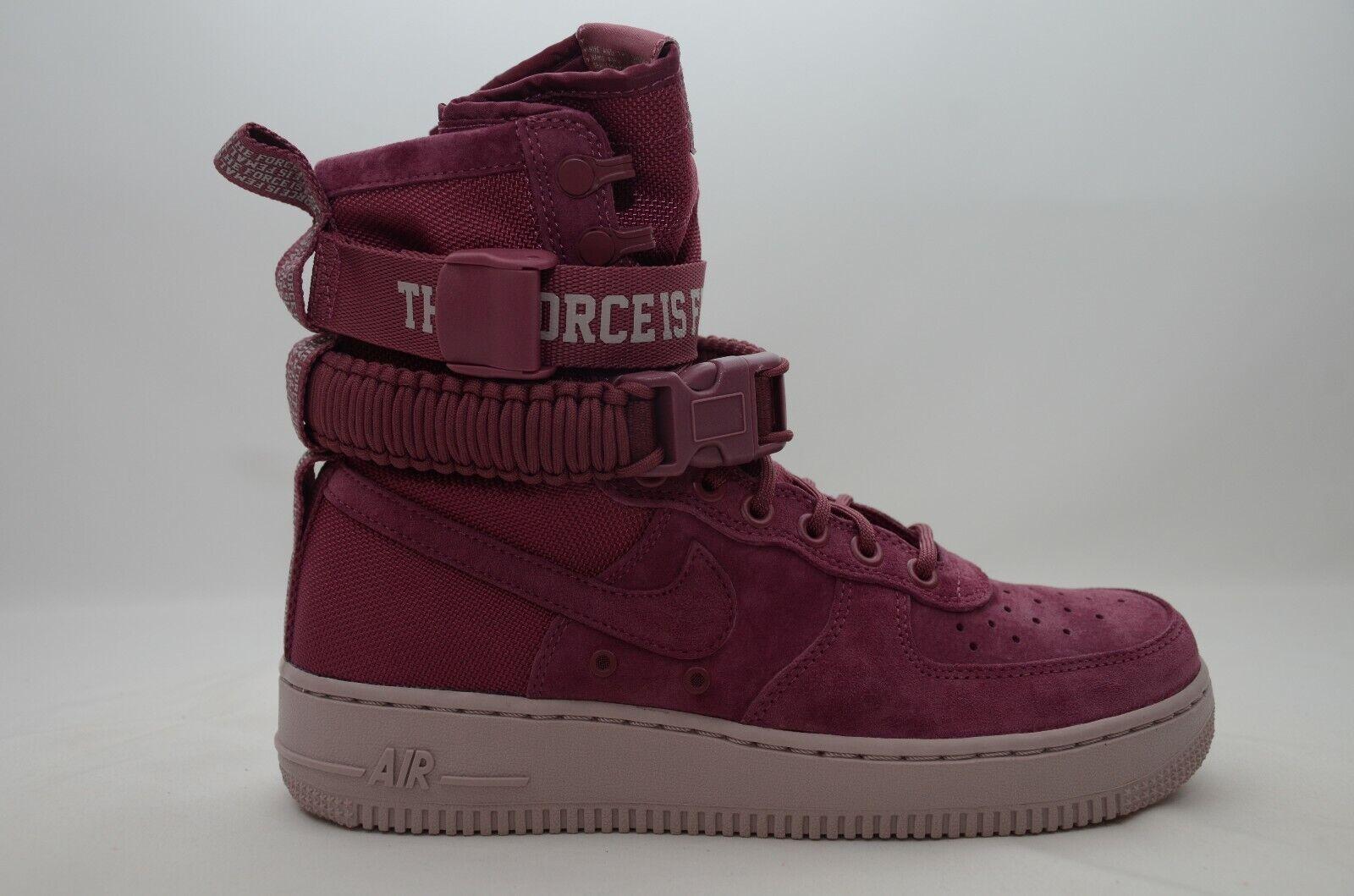 b2827614efa2a Nike Women's SF Air Force 1 FIF Shoes Vintage Wine Aj1700-600 B 8.5 ...