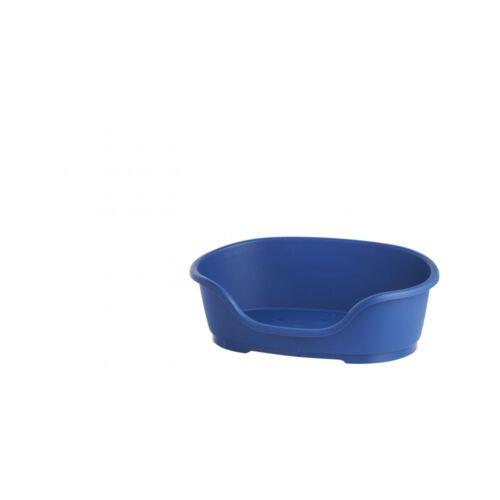 60cm Do Not Disturb Perro Cama de plástico No3 Azul