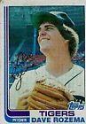 1982 Topps Dave Rozema #319 Baseball Card