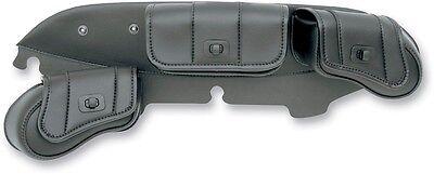 Saddlemen Cruis'N Deluxe 3 Pocket Windshield Bag for Harley 96-13 FLH 3508-0015